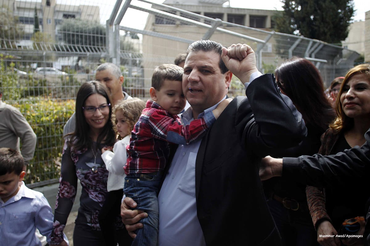 Image of Ayman Odeh, leader of the Joint Arab List [Muammar Awad/Apaimages]
