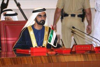 Ruler of Dubai, Vice President and Prime Minister of the United Arab Emirates (UAE) Sheikh Mohammed Bin Rashid Al-Maktoum in Manama, Bahrain on 6 December 2016 [Stringer/Anadolu Agency]
