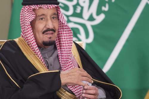 King of Saudi Arabia, Salman bin Abdulaziz Al Saud on December 8, 2016 [Bandar Algaloud / Saudi Royal Council / Handout - Anadolu Agency]