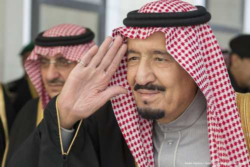 King of Saudi Arabia Salman bin Abdulaziz attends a Shura Council meeting in Riyadh, Saudi Arabia [Bandar Algaloud / Saudi Royal Council / Handout/Anadolu]