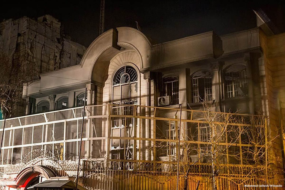 Saudi Arabia accuses Iranian authorities of delaying investigations into embassy attack