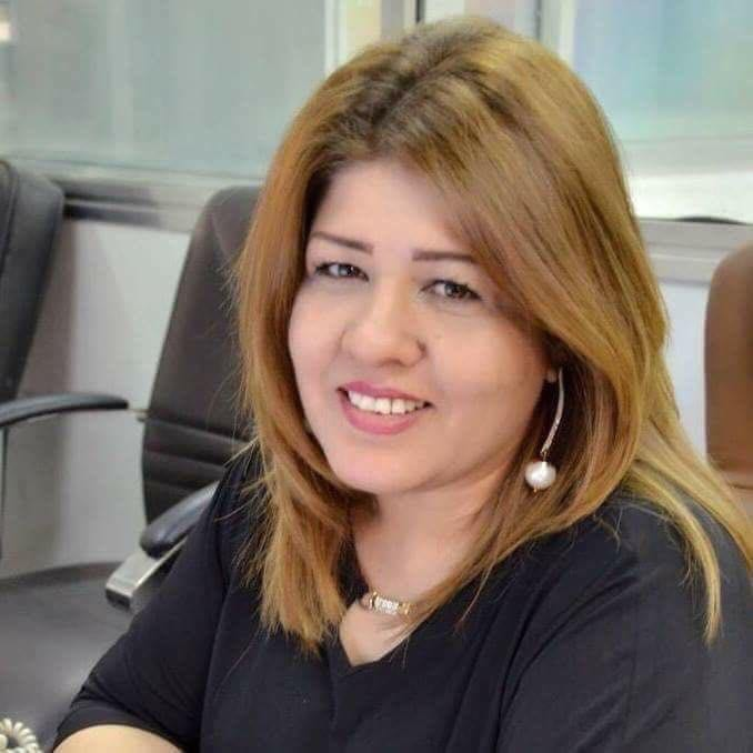 Afrah Al-Qaisi, the Iraqi journalist who was kidnapped [twitter]
