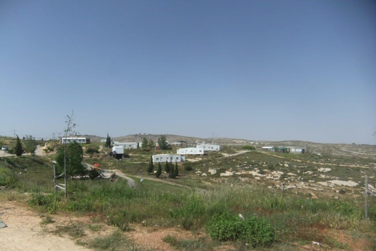 Image of the Amona outpost in occupied West Bank [יעקב / Wikipedia]