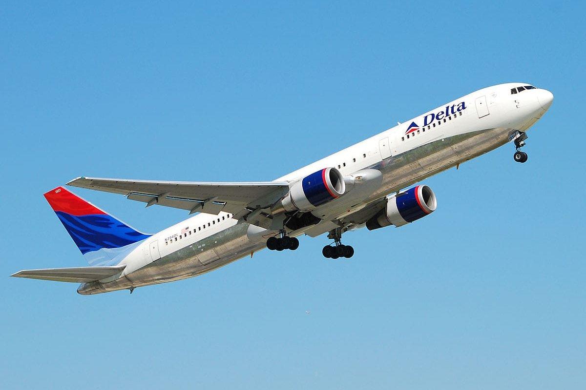 Image pf Delta Airlines plane [Andrei Dimofte/Wikipedia]