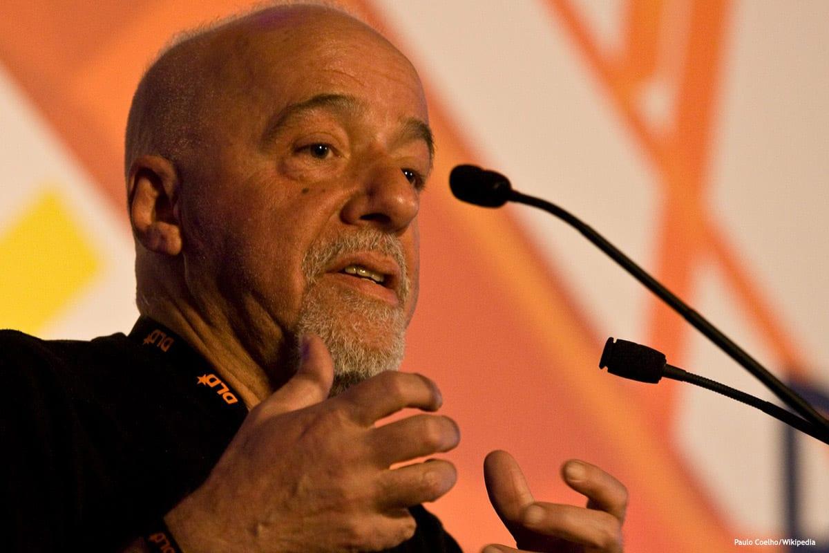 Image of Brazilian novelist Paulo Coelho [Paulo Coelho/Wikipedia]