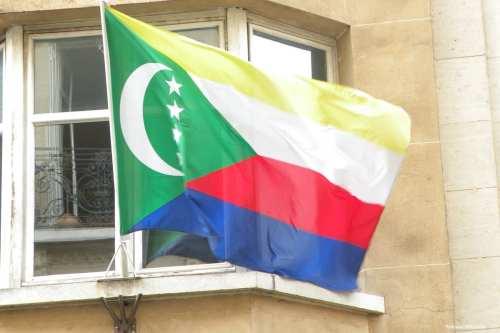 Image of The Union of the Comoros flag [Pymouss/Wikipedia]
