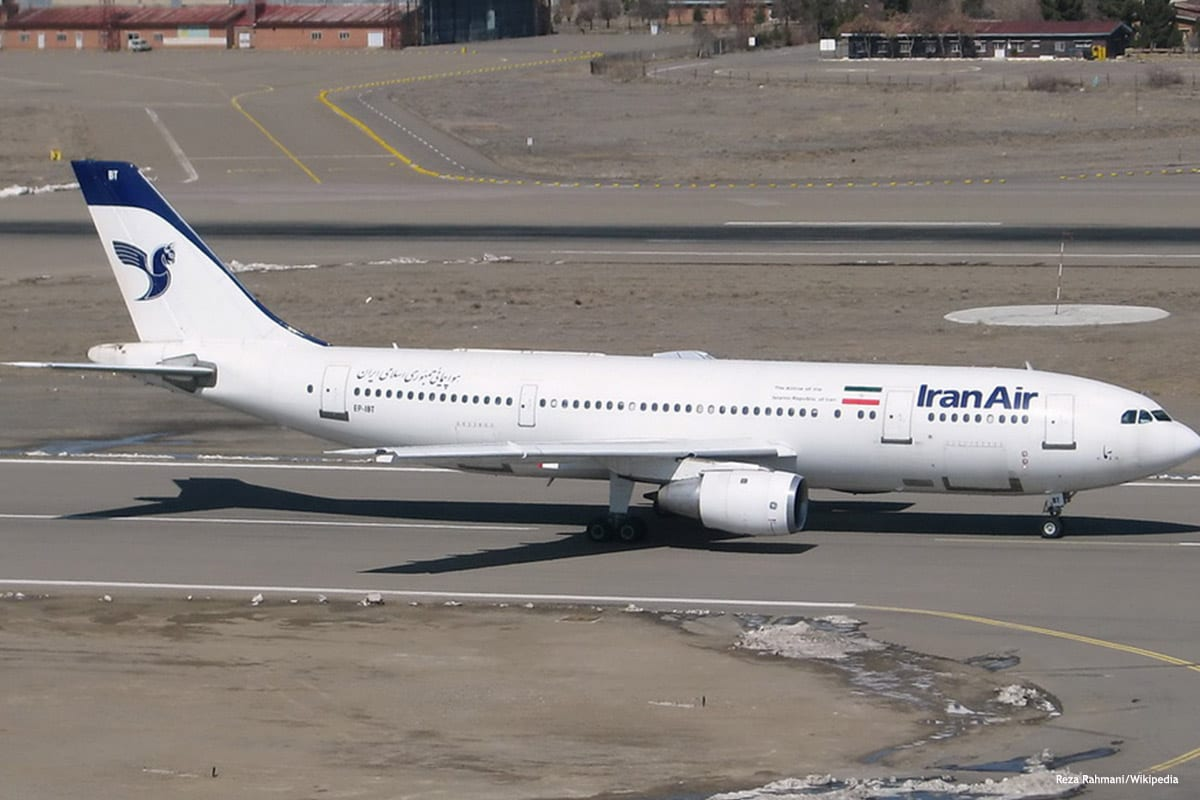 Image of Iran airlines [Reza Rahmani/Wikipedia]