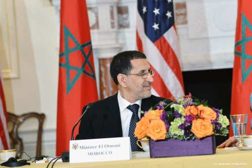 Image of the The ex-Foreign Minister of Morocco, Saad Eddine Othmani [U.S. Department of State/Flickr]