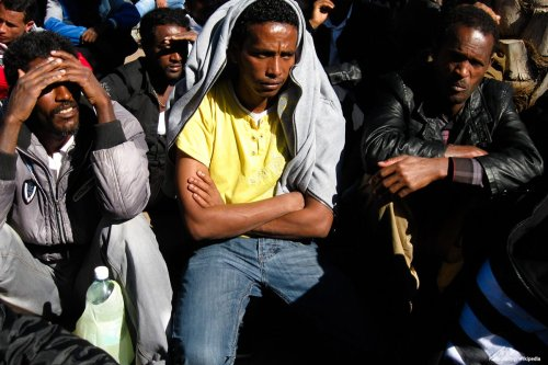 Image of African refugees in Israel [Rudychaimg/Wikipedia]