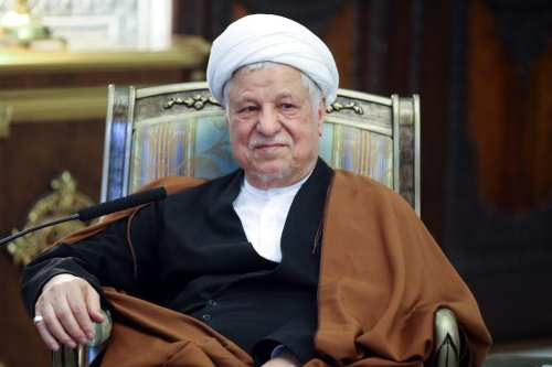Former Iranian President Akbar Hashemi Rafsanjani passed away at the age of 82 at a hospital in Tehran on Sunday [Fatemeh Bahrami / Anadolu Agency]
