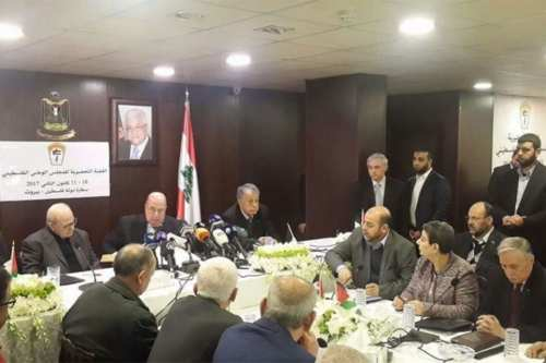 Palestinian factions including Islamic Jihad and Hamas are seen in the Lebanese capital in hopes to achieve Palestinian unity