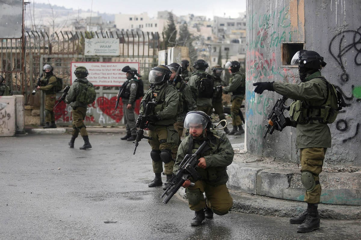 Image of Israeli security forces (İssam Rimawi - Anadolu Agency )