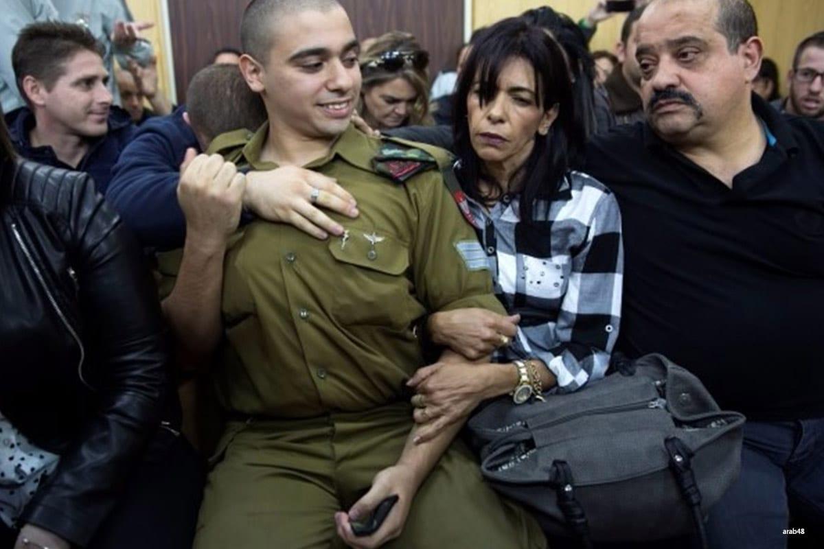 Israeli soldier Elor Azarya