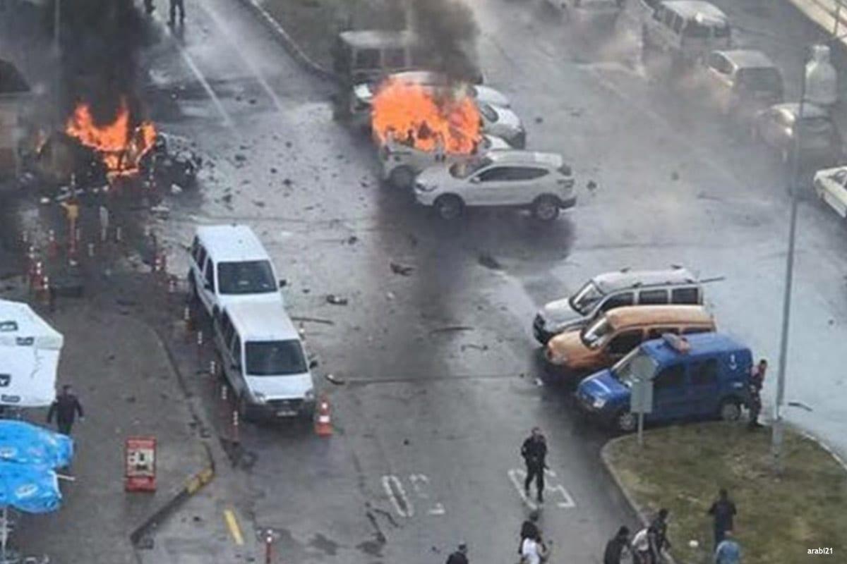 Car bomb explodes in Turkey's Izmir
