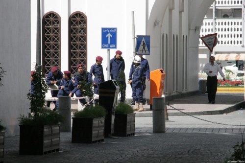 Image of Bahraini police [Sara Hassan/ Flickr]