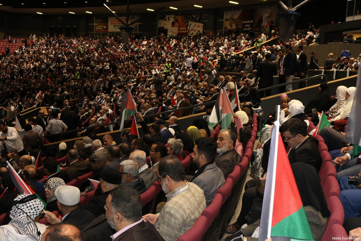 Delegates at the Palestinians Abroad conference in Istanbul, Turkey on February 25, 2017 [Middle East Monitor]