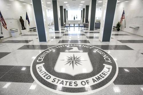 Imageo of CIA HQ in Langley, Virginia