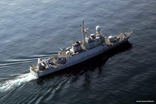 Image of a Saudi warship [Michael Starkey/Wikipedia]