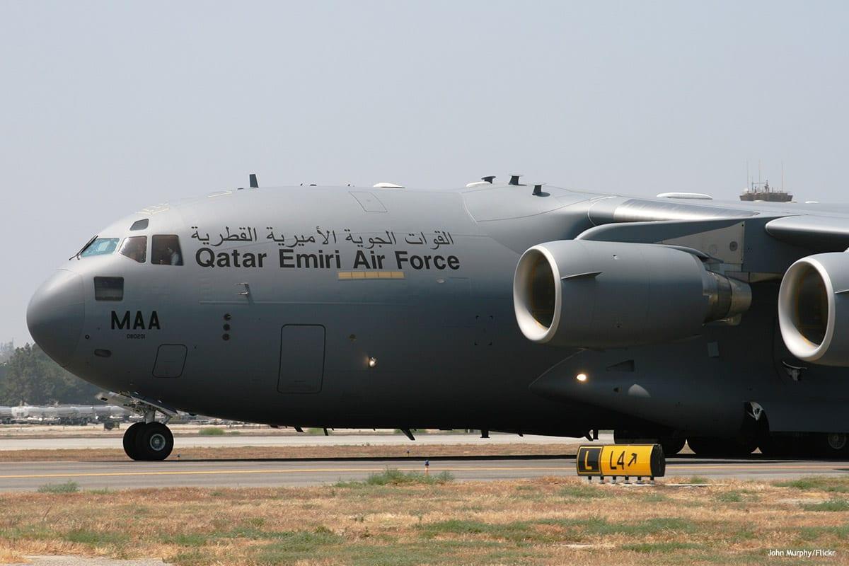 Image of Qatari air force [John Murphy/Flickr]