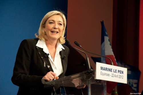 Image of France's far-right party leader Marine Le Pen [Rémi Noyon/Flickr]