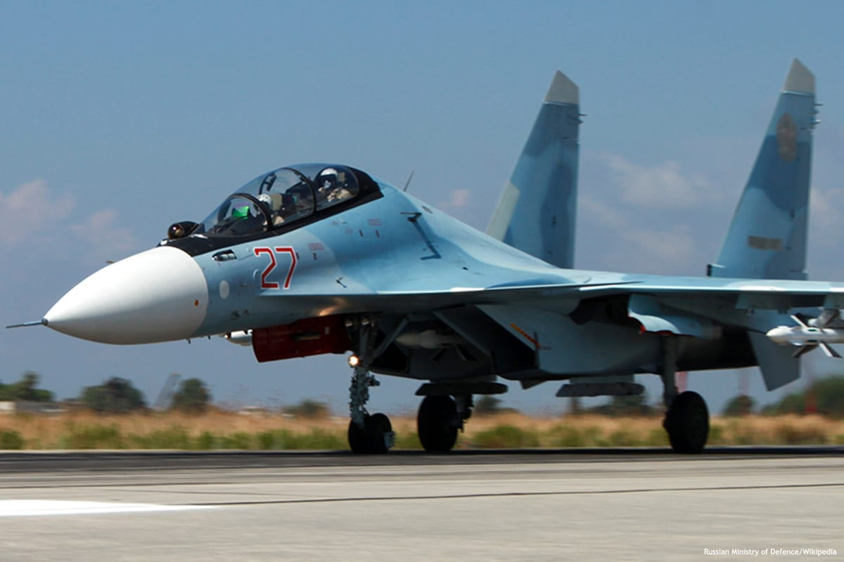 Image of Russian military aircraft [Russian Ministry of Defence/Wikipedia]
