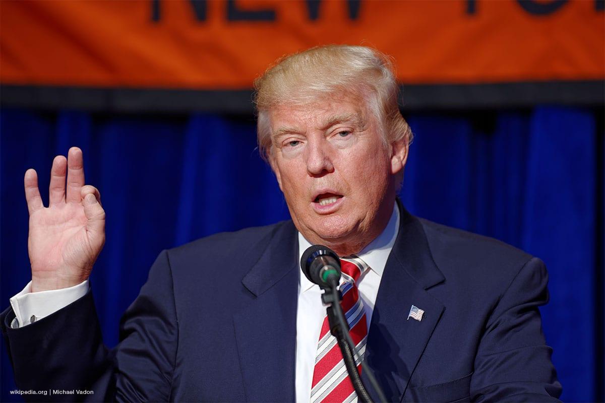 Image of US President Donald Trump