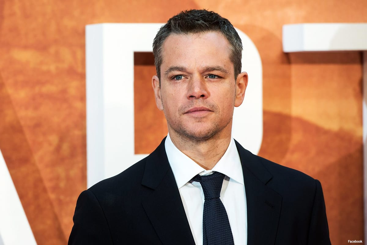 Image of Oscar winner Matt Damon [Facebook]