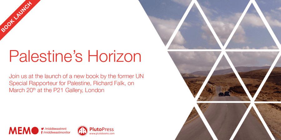 Book Launch: Palestine's Horizon