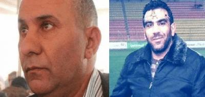 Palestinian prisoners Raed Fayez Mteir and Jamal Abu Al-Leil