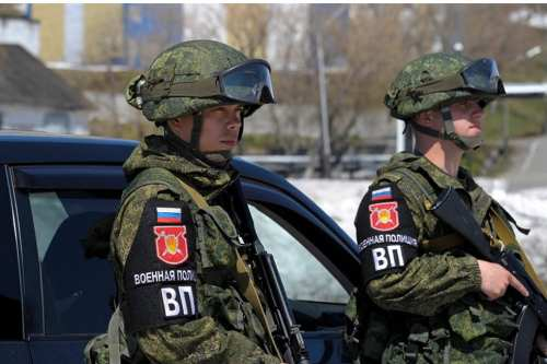 Soldiers of the Russian military police [Wikipedia]