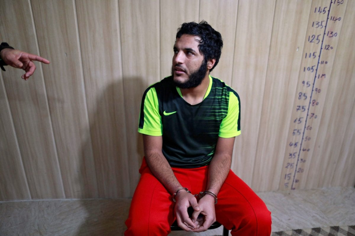Daesh militant Amar Hussein, 21, claims to have raped more than 200 women [Reuters]