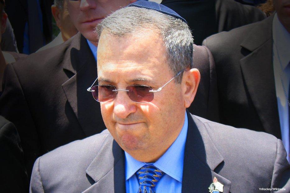 Former Israeli Prime Minister Ehud Barak