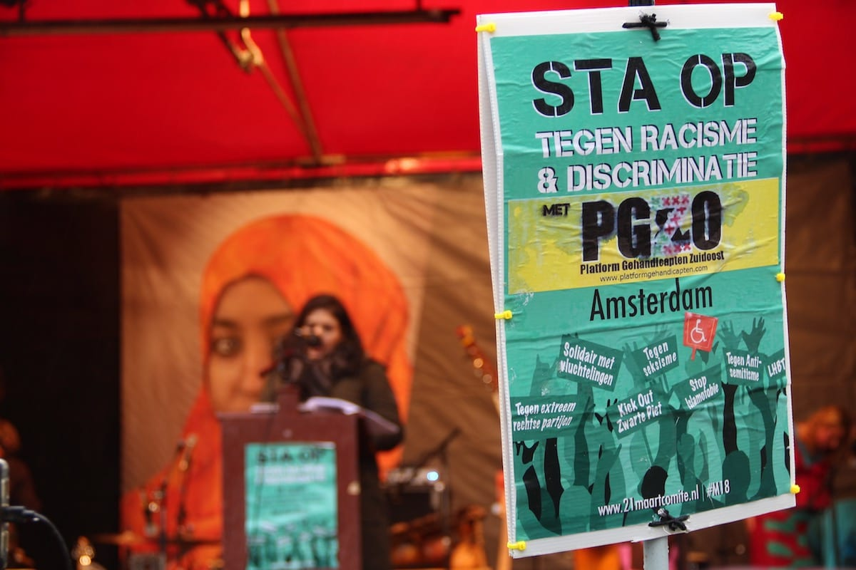 Dutch Anti Racism Protesters Take To The Streets Middle East Monitor