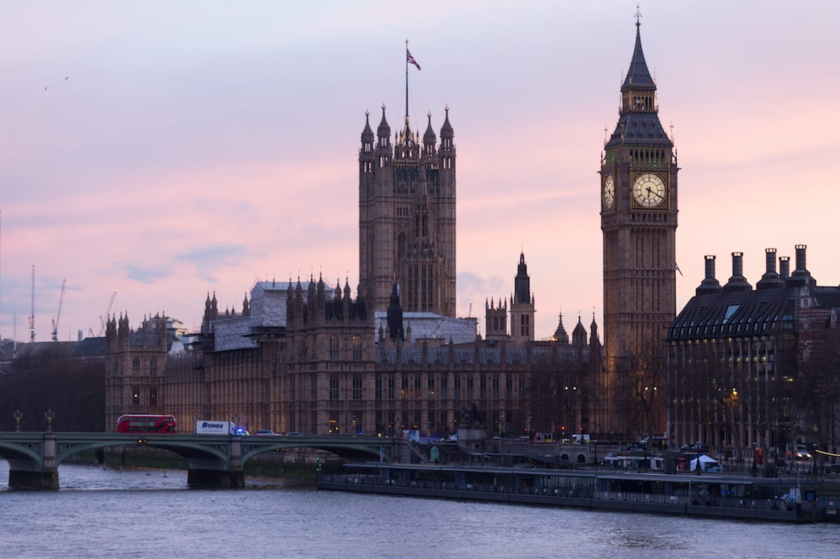 View of the UK parliament and the River Thames on 23 March 2017 [Ray Tang/Anadolu Agency]