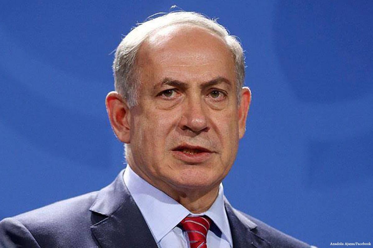 Image of Israeli Prime Minister Benjamin Netanyahu on 11 February 2017 [Anadolu Ajansı/Facebook