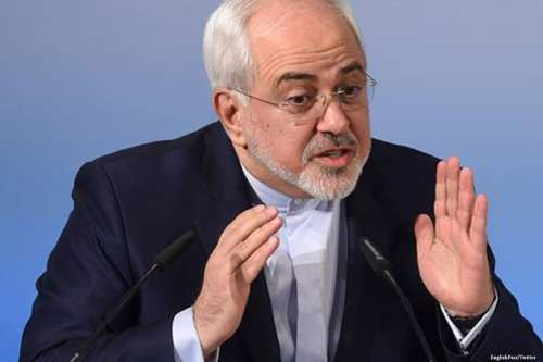 Image of Iranian Foreign Minister Mohammad Javad Zarif on 17 March 2017 [EnglishPars/Twitter]