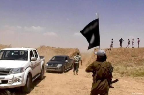 Image of Daesh militants [Hisapntv/Twitter]