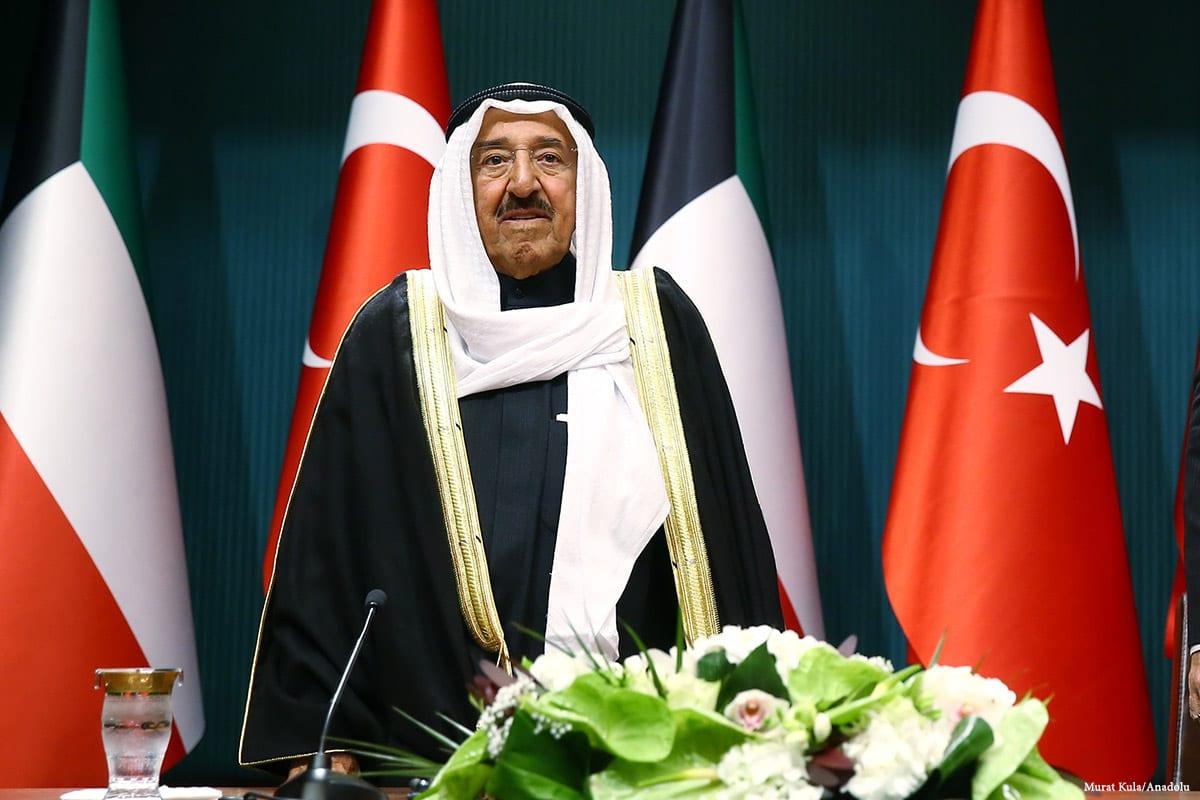 Image of Kuwaiti Emir, Sabah Al-Ahmed Jabir Al-Sabah [Murat Kula/Anadolu]