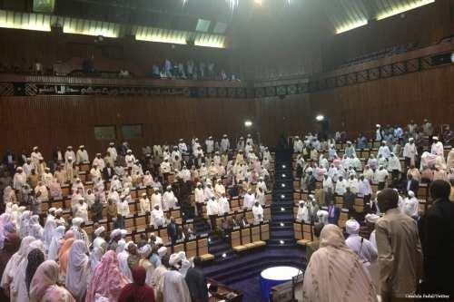Parliament of Sudan in session [Umabdu Fadul/Twitter]