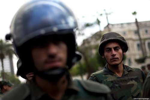Image of Egyptian police [Ashraf Amra/Apaimages]