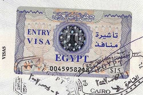 Egyptian visa [Georgia Popplewell/Flickr]