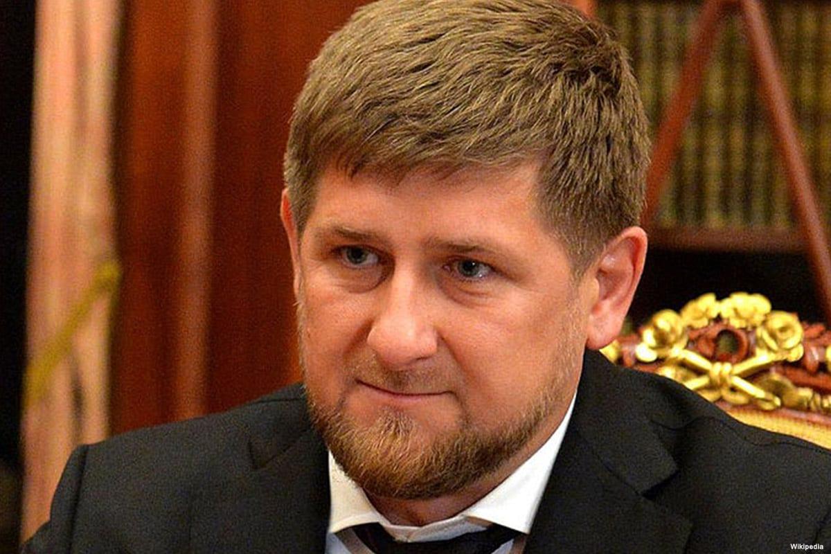 Image of Chechen leader Ramzan Kadyrov on 14 December 2014 [Wikipedia]