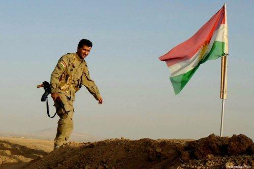 Image of the Kurdish flag Kurdishstruggle/Flickr]