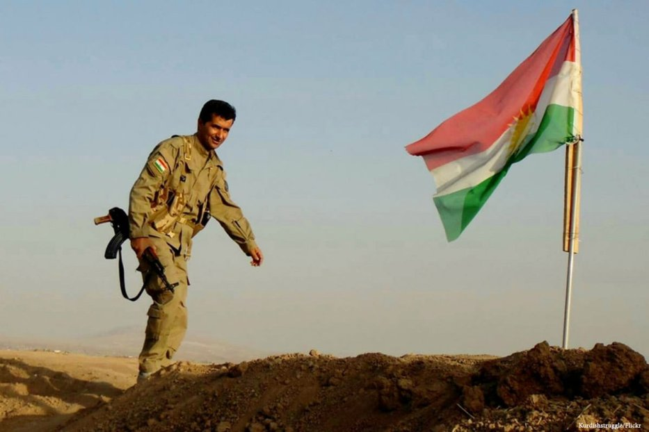 Image of the Kurdish flag Kurdishstruggle/Flickr]