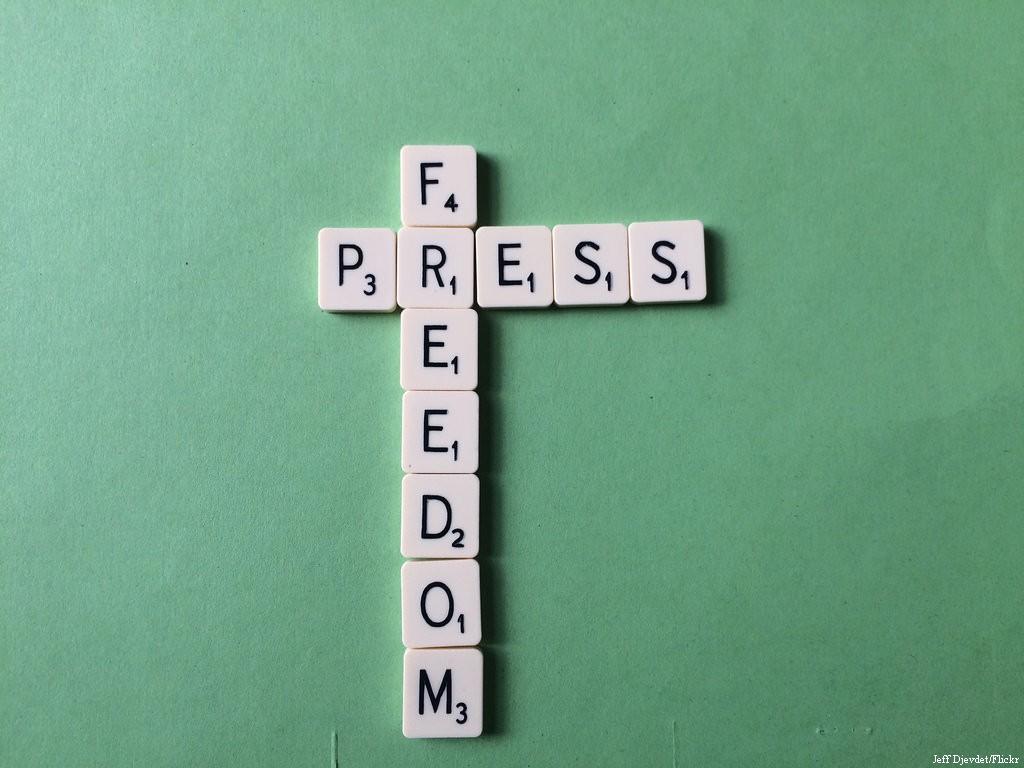 Pess Freedom Scrabble, June 15, 2015 [Jeff Djevdet/Flickr]