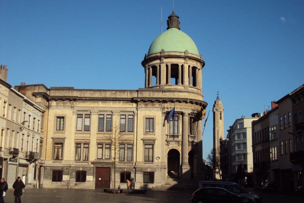 Sint-Jans-Molenbeek, Belgium, City Hall on November 28, 2015 [Goris/Wikipedia]