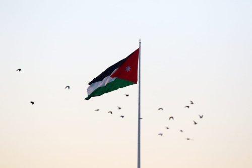 Jordanian flag [Salah Malkawi/Anadolu Agency]