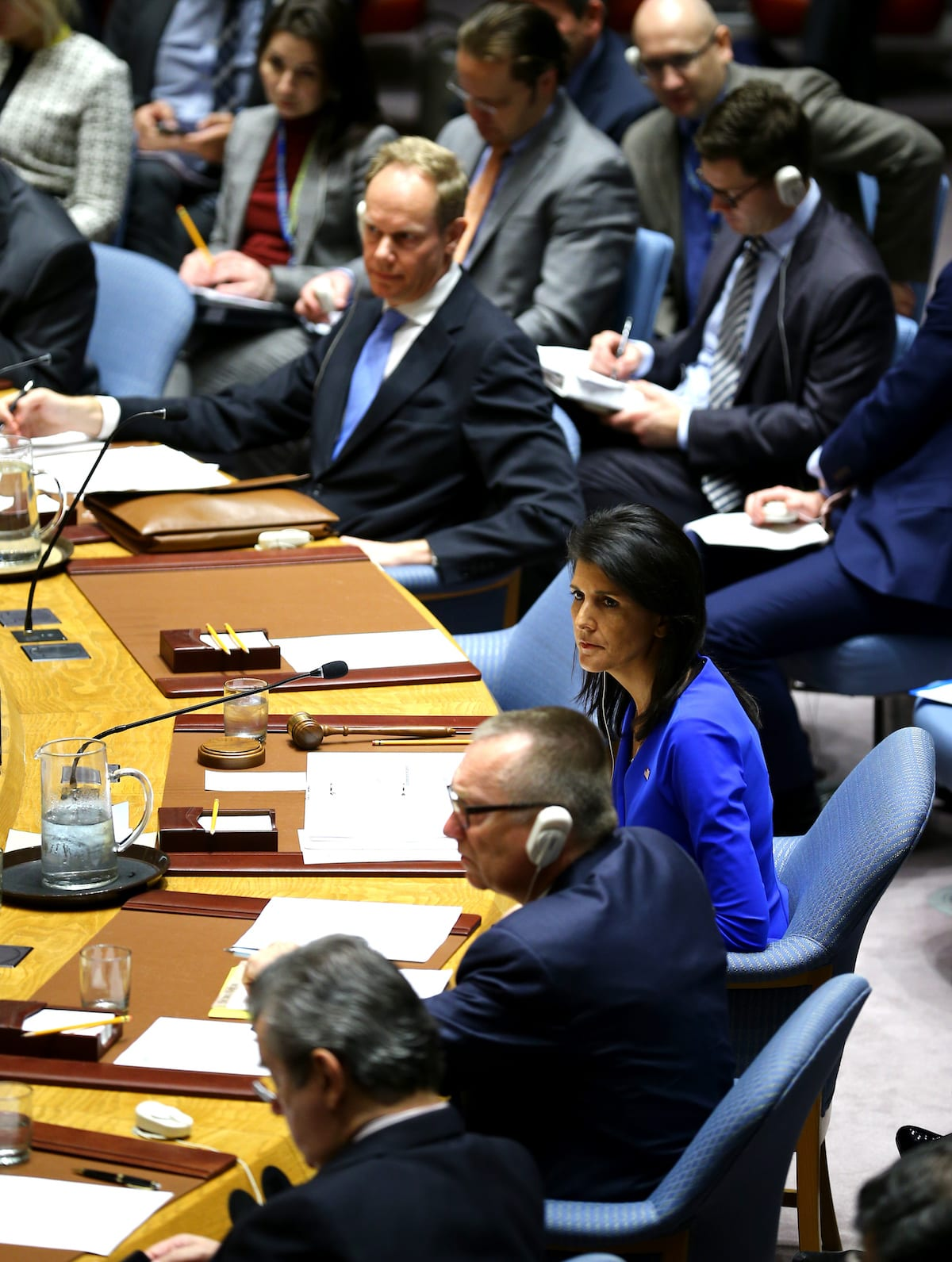Un Security Council Meets To Discuss Syria Gass