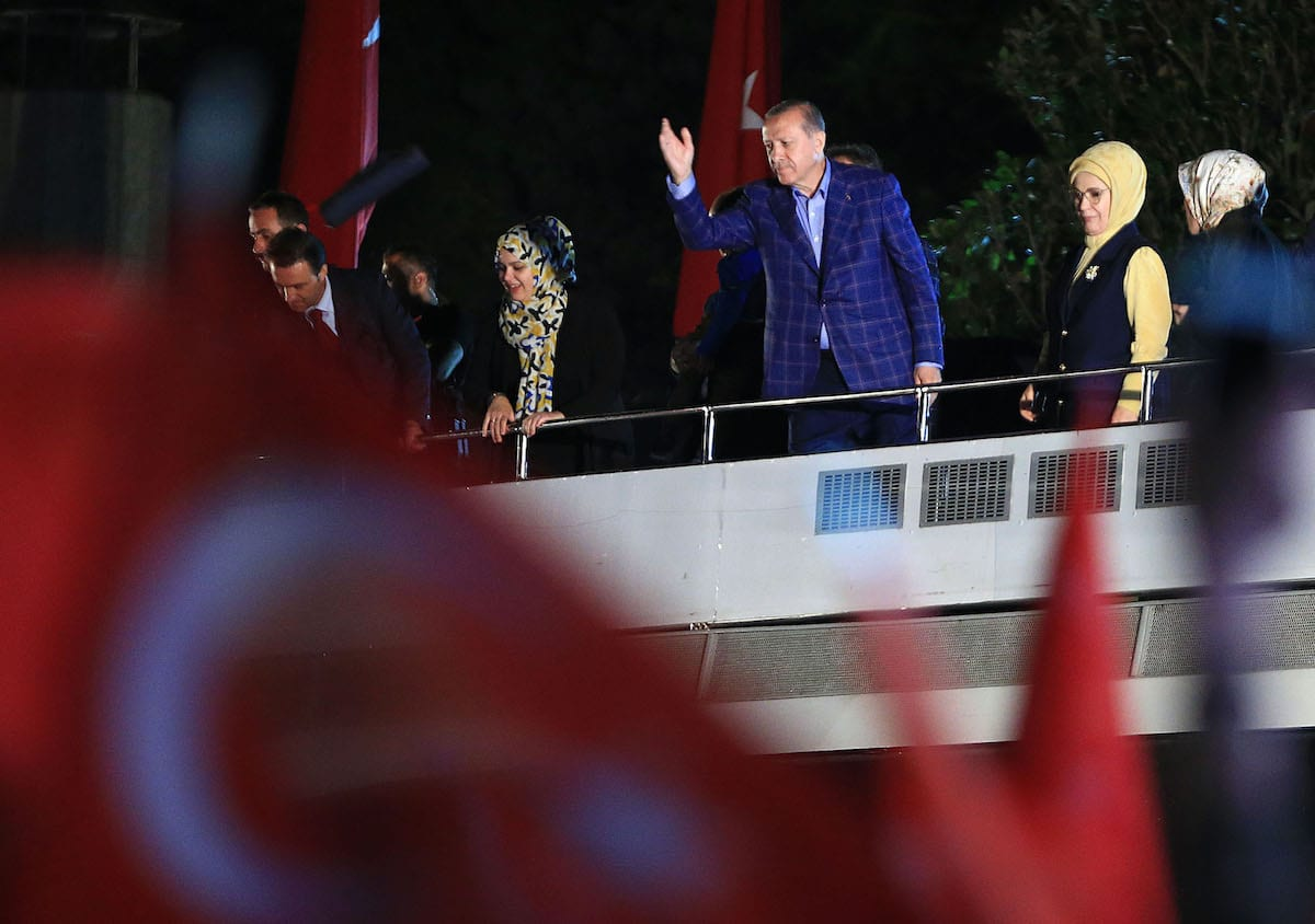 Erdogan slams criticism of disputed Turkey poll