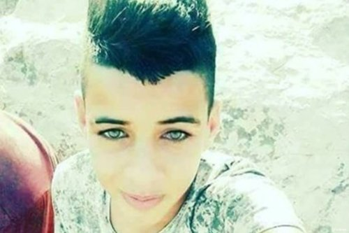 Image of Palestinian teenager Jassem Muhammad Nakhla, who was shot by Israeli forces [maannews]